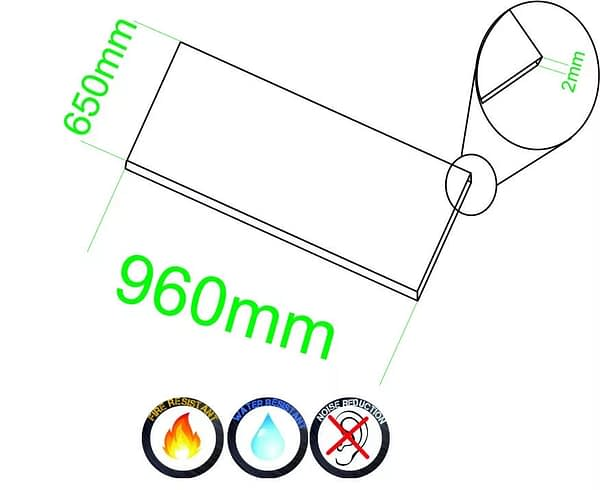 Selbstklebender Kork 2 mm