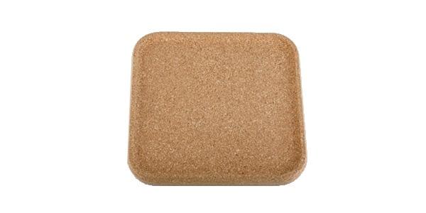 Kork Quadrat Tablett
