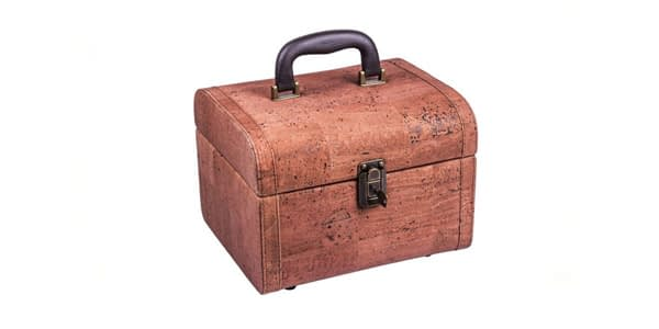Natürliche Kork Kiste